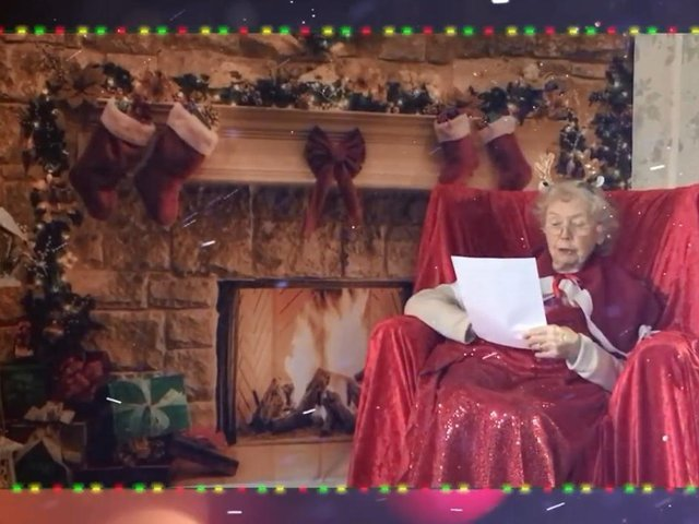 Milton Keynes care home residents record magical Christmas bedtime story to thank children across the nation