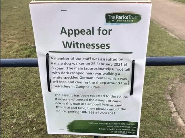 The Parks Trust is appealing for witnesses