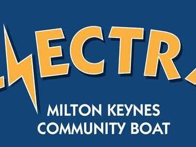 Here's the logo for the new community boat in Milton Keynes set to be launched in the spring of 2021
