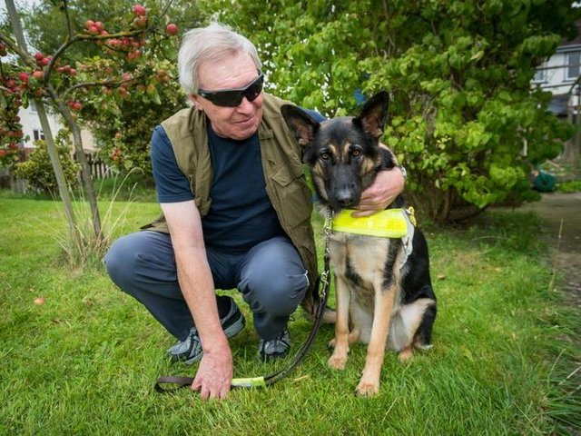 Mike Gurney has been visually impaired since he was a child