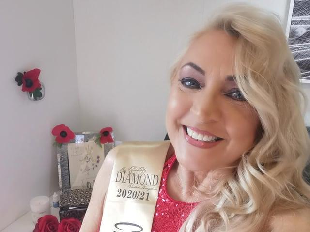 Hazel recently won the Miss Classic Diamond pageant