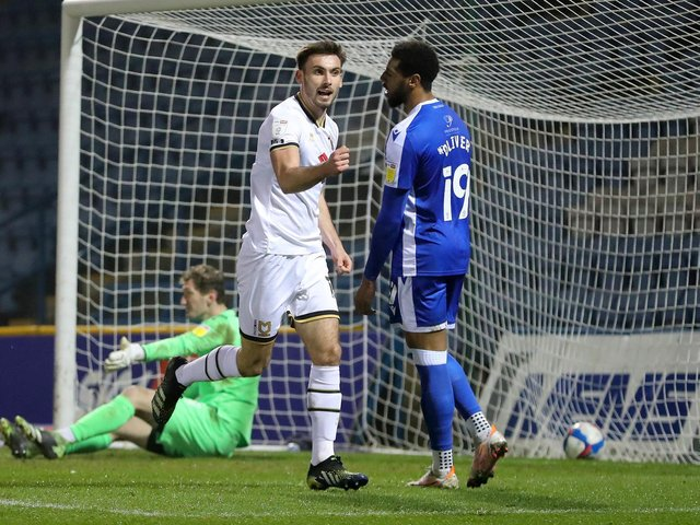 Warren O'Hora got Dons back on level terms in first-half stoppage time