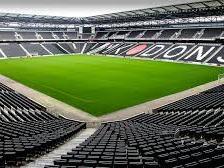 Stadium MK can seat around 30,000 people