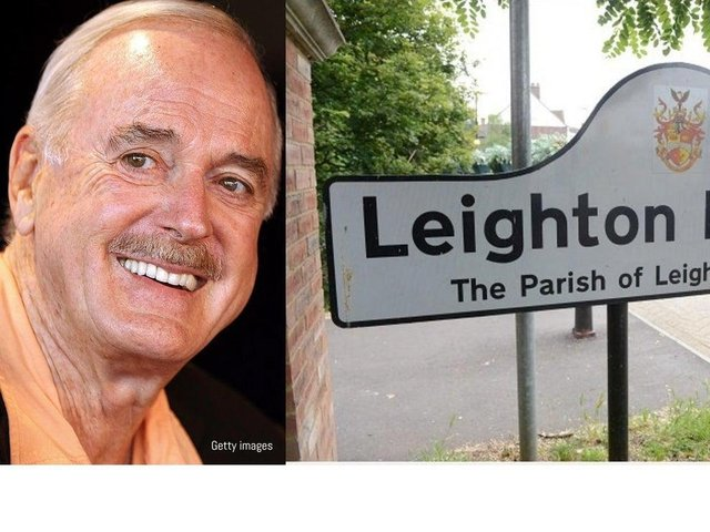 John Cleese believes mentioning Leighton Buzzard has lost him support in North America