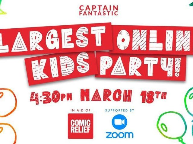 Children everywhere are invited to the party