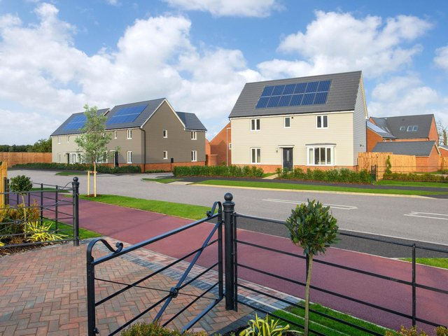 A sneak preview of the Barratt and David Wilson Homes development plans at Woburn Downs