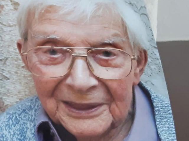 William Langridge is 100 years old