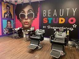 A Superdrug beauty studio