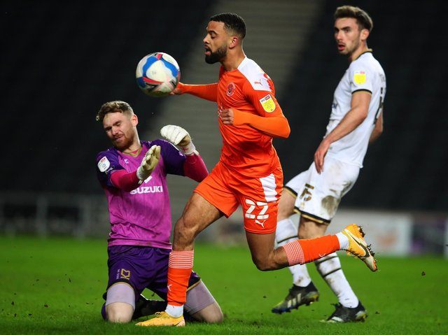 Little he could do when he was left exposed for the goal, but made this save from Hamilton to keep Dons in it. Decent with the ball at his feet, and not afraid to go long at times.