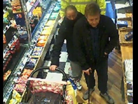 Thames Valley Police want to speak to this pair in connection to a theft in Bletchley in December 2020
