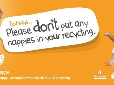 MK Council back campaign tackling disgusting, wrongly disposed of nappies that contaminate the city's recycling