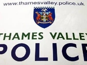 Thames Valley Police are hunting a man in his 20s who spat and yelled abuse at two women