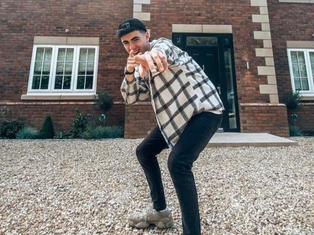 Callum Ryan from Milton Keynes, now works full-time as an influencer