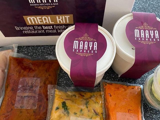 A Cook at Home with Maaya kit