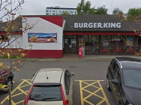 The Buger King site in Bletchley
