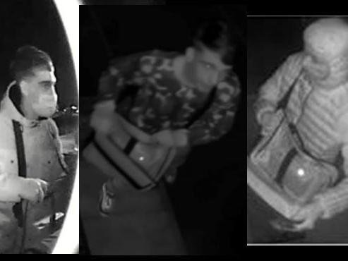 Thames Valley Police want to speak to these three men in connection to an attempted car theft in Milton Keynes