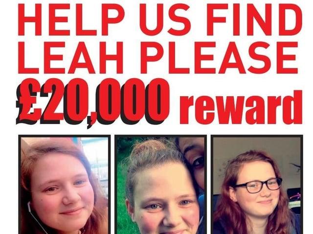 The new reward poster