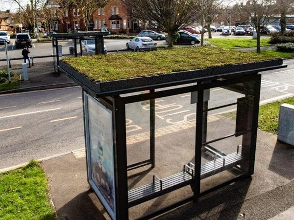 A look at the green bus shelters coming to Milton Keynes
