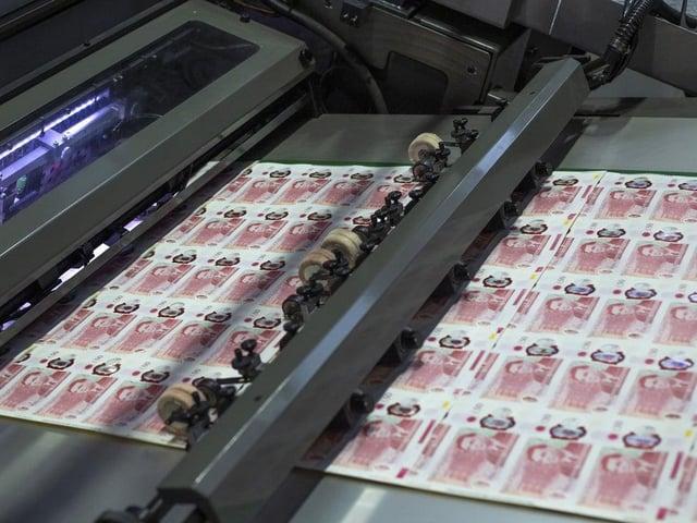 New £50 note print run