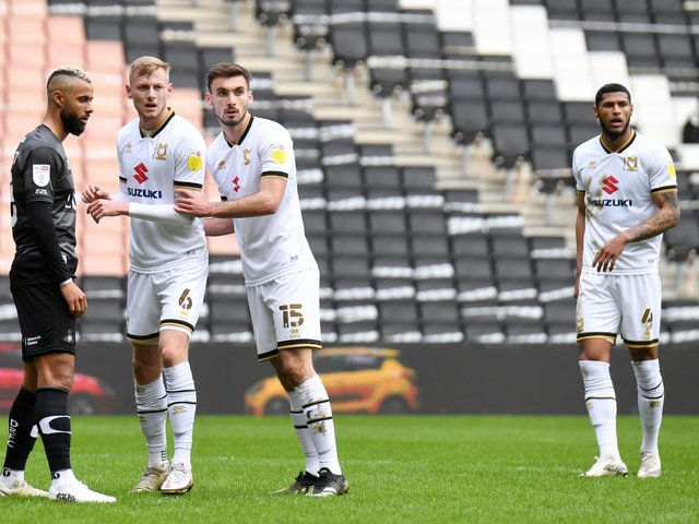 Harry Darling, Warren O'Hora and Zak Jules limited Doncaster to just one shot on target at Stadium MK