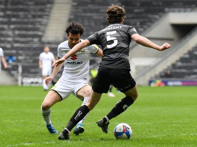 Scott Fraser played for just 29 minutes against Doncaster