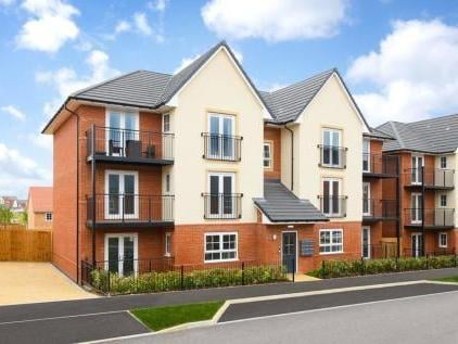 Flats in Cicero Crescent on Fairfields - the most popular place to buy last year. Photo: Rightmove