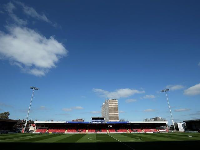 The Alexanda Stadium at Gresty Road