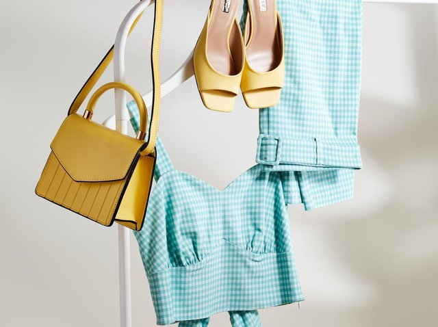 This Primark women's two piece set is £18. The bag is £6 and the shoes £10