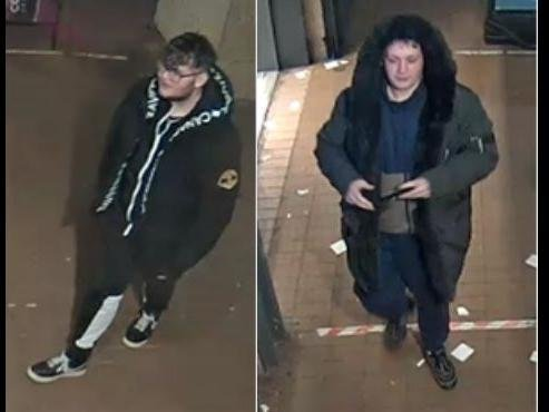Thames Valley Police believe this pair have information linked an incident of theft in Milton Keynes