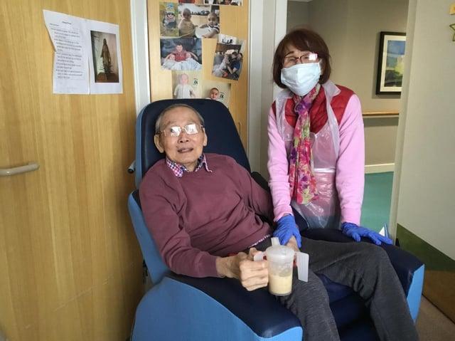 Chung Chum and his wife Joyce