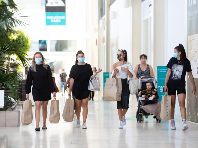 Stores at centre:mk will open next Monday