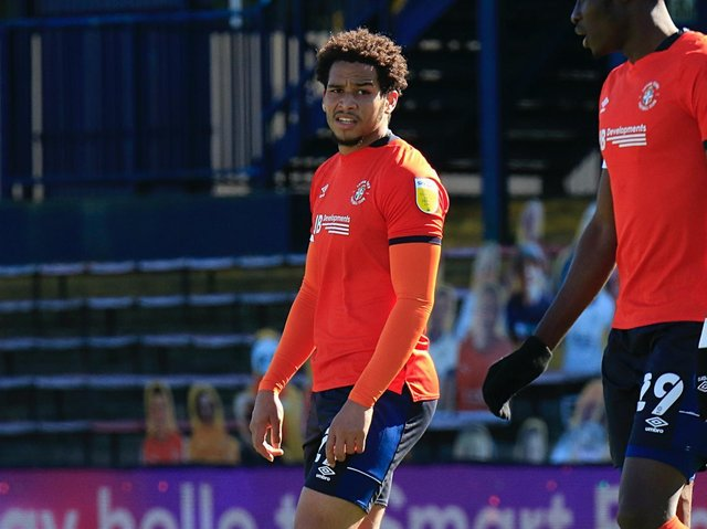 Sam Nombe made his first Championship start on Monday