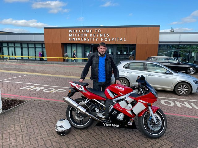 Luke is planning to ride 2,000 miles to raise cash for the NHS mental health services in MK