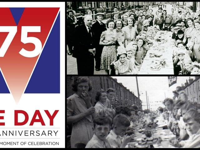 VE Day in MK back in 1945