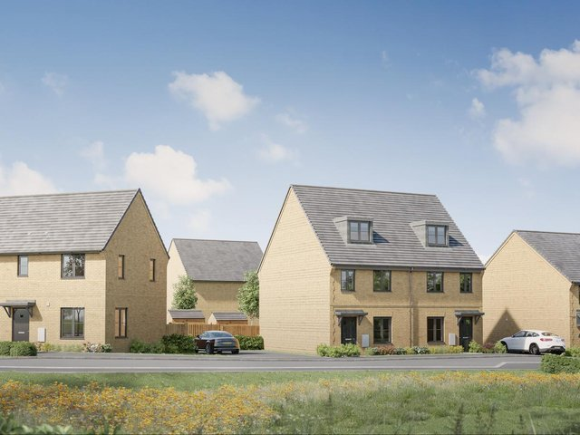 A first look at the new development in Olney