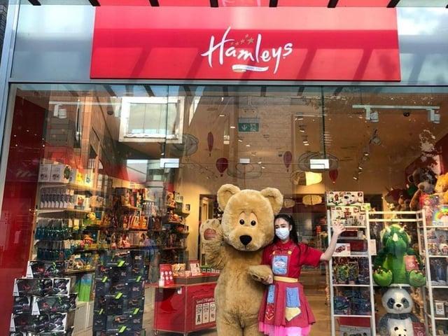 Hamleys will open on Monday in MK