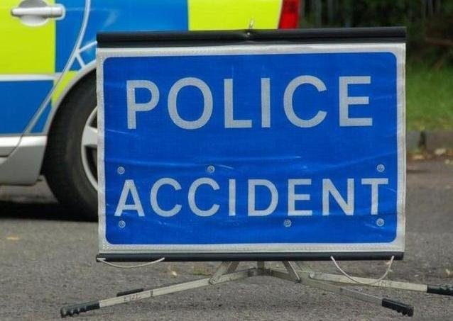 Two lanes are closed on the A5 following a lorry catching fire on April 12