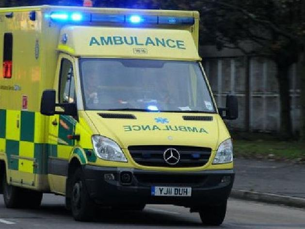 Chase was taken to Milton Keynes hospital