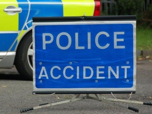Two lanes closed on the M1 following a three-vehicle collision on April 13