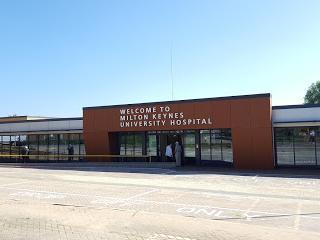Milton Keynes University Hospital closed its vaccination centre