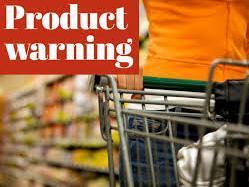 Product warning