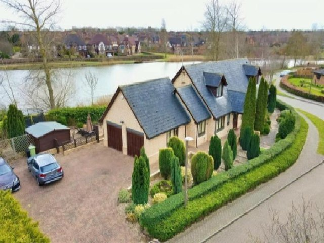This secluded Milton Keynes home is currently on the market