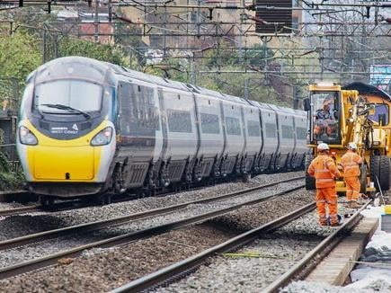 Rail travel will be disrupted over the bank holiday