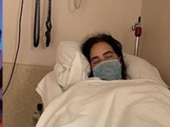 Chanti is very ill in hospital