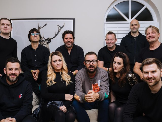 Judge Jules and his 10-piece band