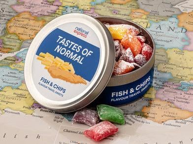 The fish and chip flavour sweets