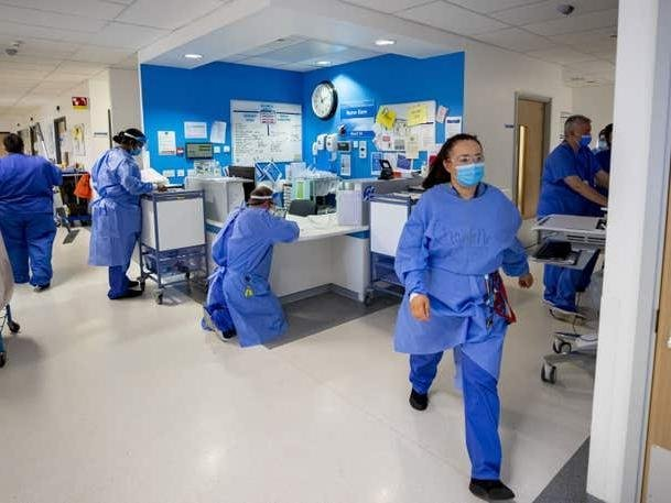 stock picture hospital