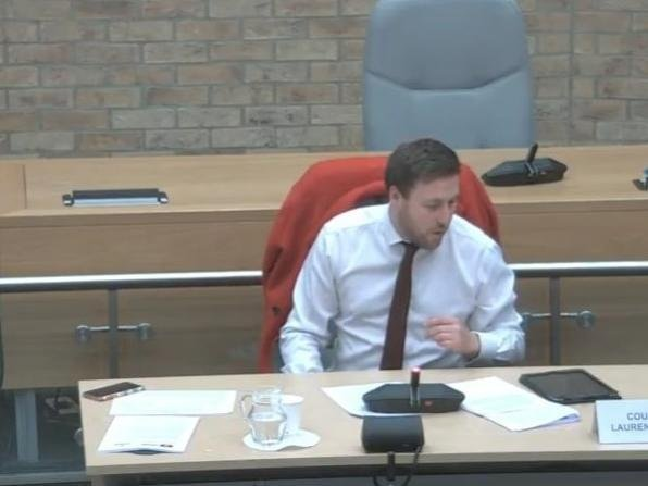 Current council leader Pete Marland