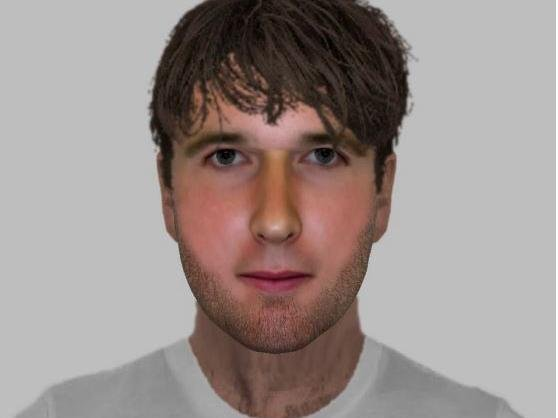 E-fit of man connected to indecent exposure incident in Milton Keynes on March 29