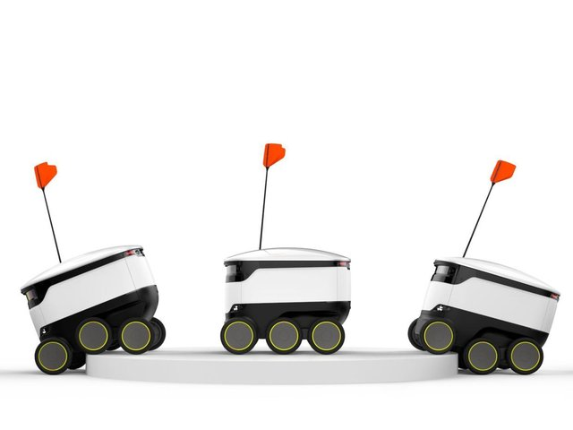 Starship robot deliveries have quadrupled over the past year
